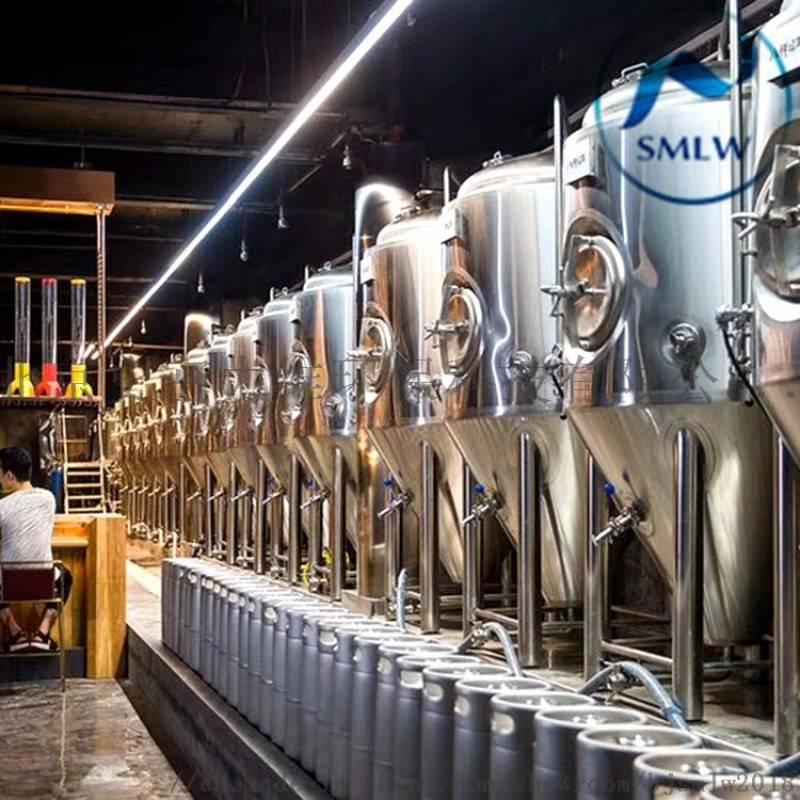 二手啤酒酿酒设备转让个人-一套啤酒生产设备多少钱?山东和盛酿酒设备有限-大麦丫-精酿啤酒连锁超市,工厂店平价酒吧免费加盟