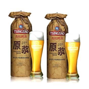 青岛原浆啤酒价格-泰山原浆啤酒散吗? ? ?青岛哪里有卖? ? ?价钱-大麦丫-精酿啤酒连锁超市,工厂店平价酒吧免费加盟