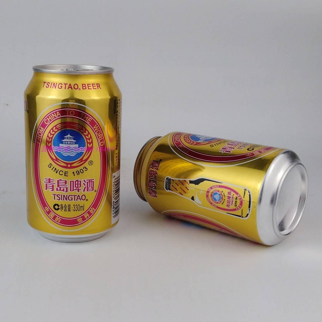 青岛易拉罐啤酒价格-一瓶青岛啤酒的零售价是多少?-大麦丫-精酿啤酒连锁超市,工厂店平价酒吧免费加盟